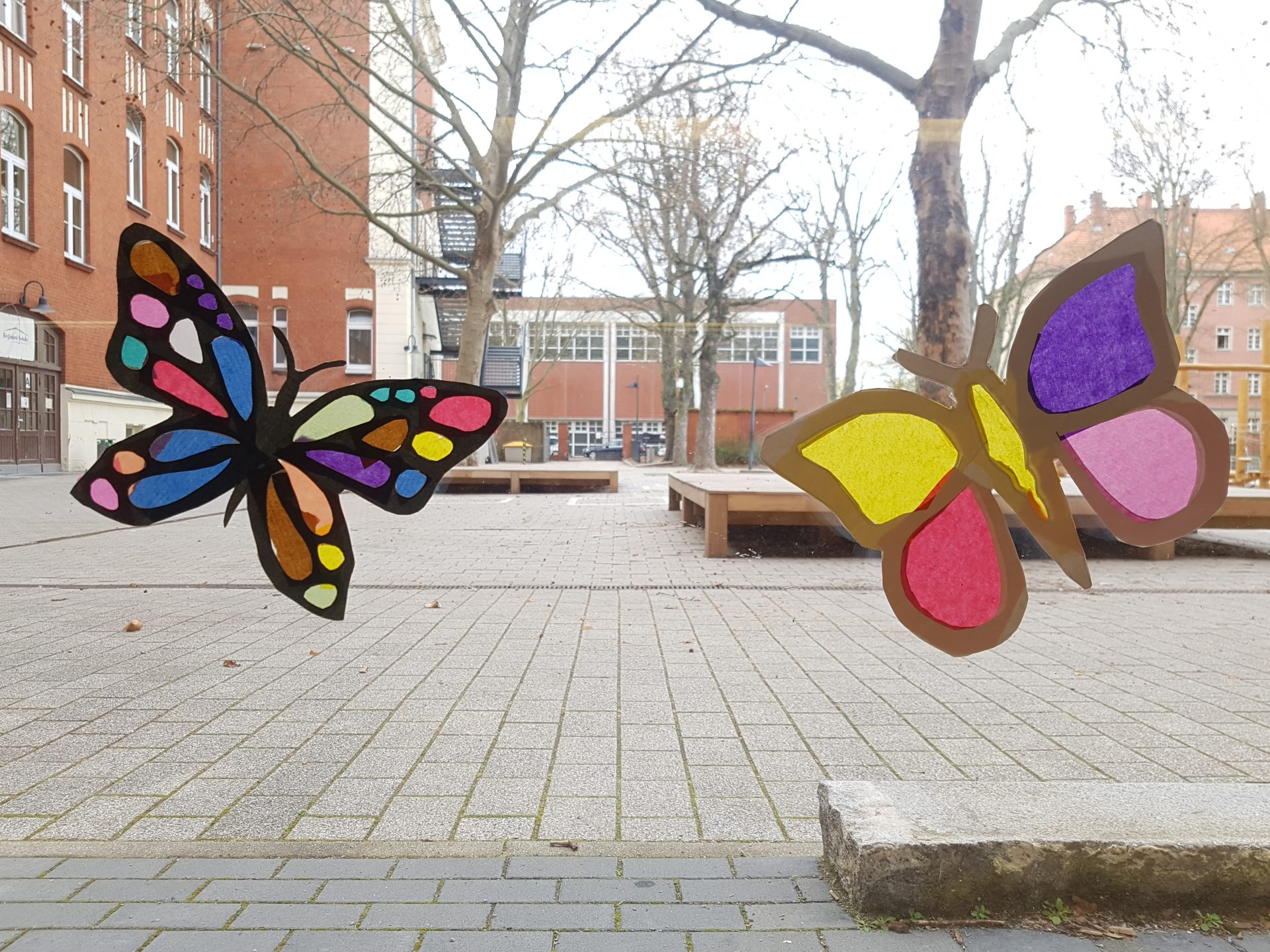 Schmetterling Fensterbilder